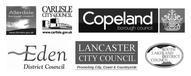 Logos: local councils supporting the community housing hub